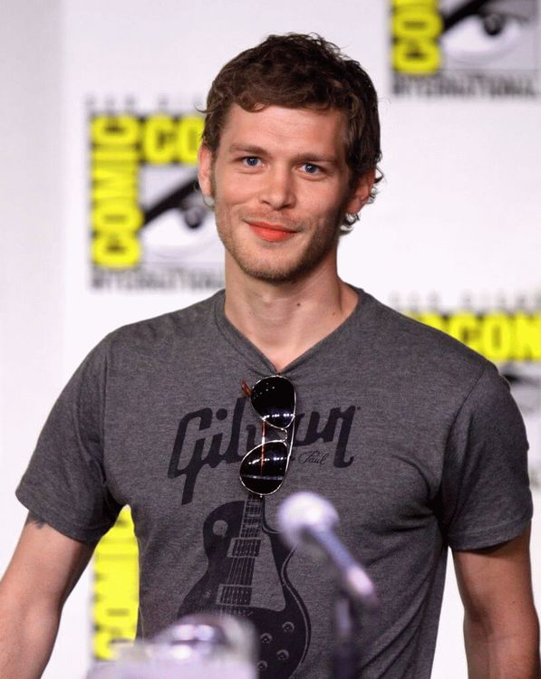 Joseph Morgan (born Joseph Martin), English actor
