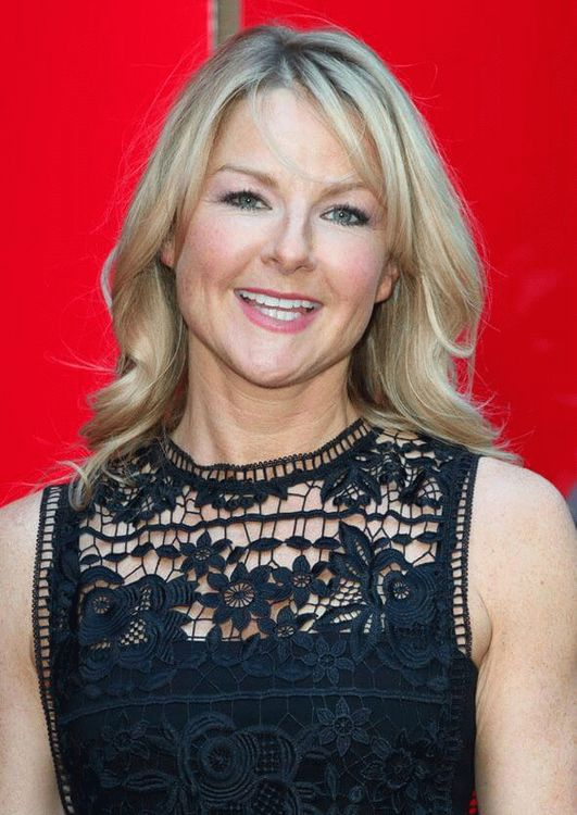 Sarah Hadland, British actress