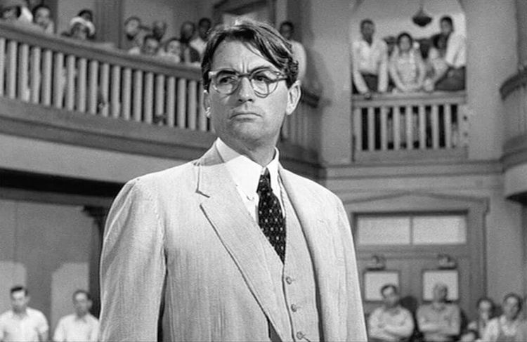 atticus finch - character of the novel To Kill a Mockingbird