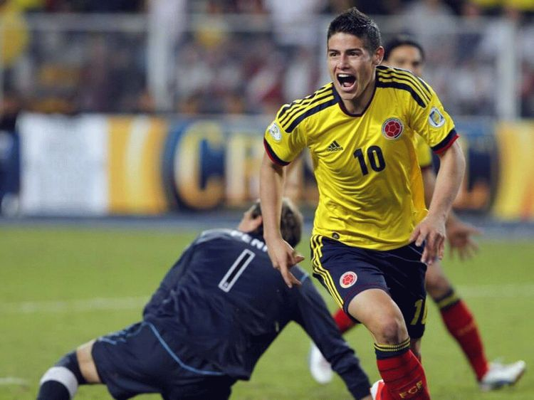 James Rodriguez, foorball player