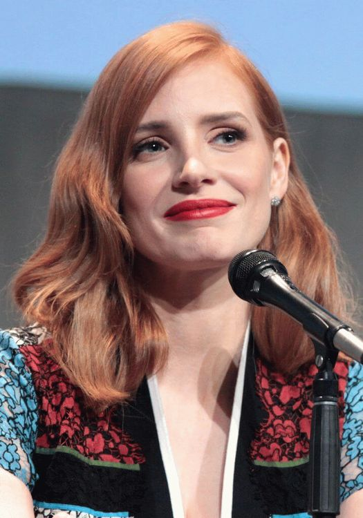 Jessica Michelle Chastain, American actress